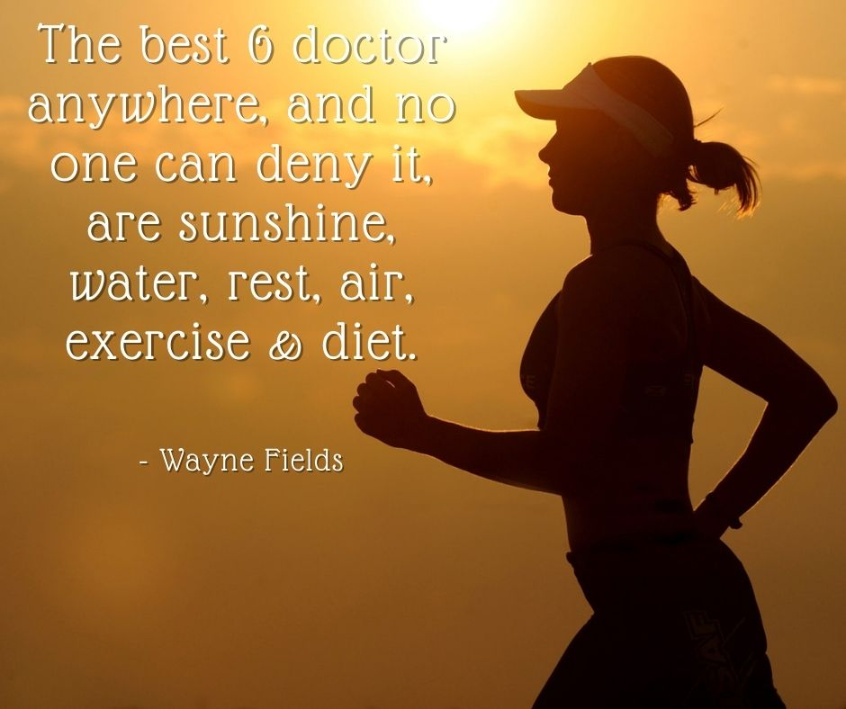 Good suggestions for good health.