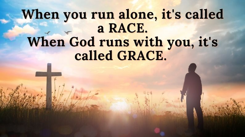 Do you feel you are running alone in your life?
