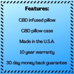 CBD Pillow Features