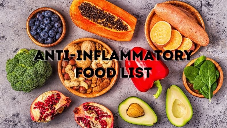 Easy Anti-Inflammatory Food List For All